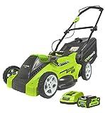 Greenworks Tools 40V Akku-Rasenmäher 40cm inklusive 2Ah Akku und Ladegerät - 2500007VA