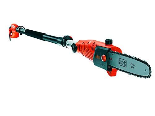 Black+Decker Hochentaster (800W, 25 cm Schwertlänge, 2,7 m Länge, 11 m/s Kettengeschwindigkeit,...
