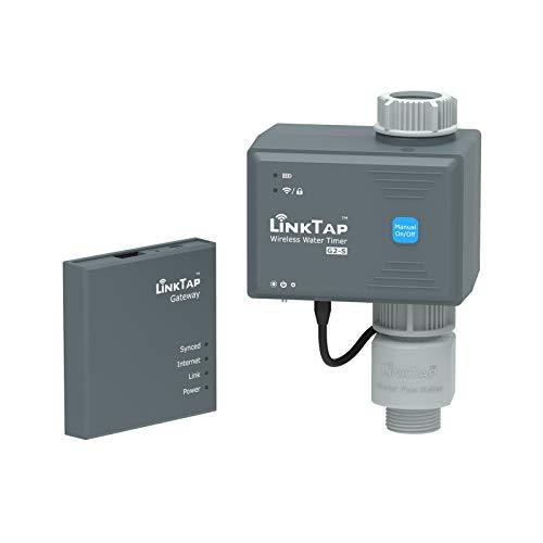 LinkTap G2S Drahtlose Bewässerungscomputer, Gateway, Wassermengenzähler - Automatische...