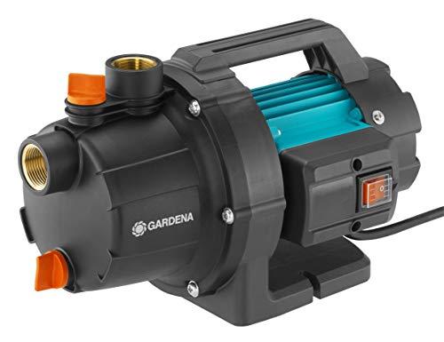 GARDENA Gartenpumpe 3000/4 Basic: 600W Leistung, 3,5 bar max. Druck, ideal zur Gartenbewässerung...