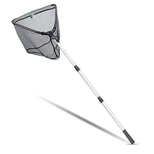 Zite Fishing Kescher Gummiert zum Angeln - Teleskop Angelkescher Diverse Längen auch für Kinder...