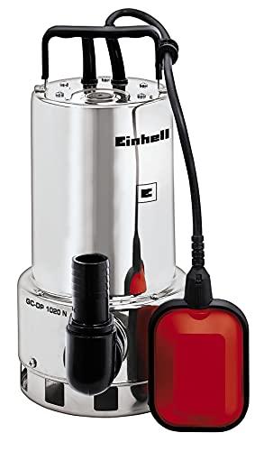 Einhell Schmutzwasserpumpe GC-DP 1020 N (1000W, Ø20mm Fremdkörper, 18.000L/h Förderleistung,...