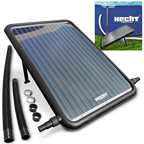 Hecht Solar Poolheizung – 96 x 59 cm Solarkollektor – 12 l Wasserinhalt – 10.000 l/h...