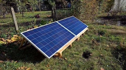 Solarzellen für die Solar Poolheizung