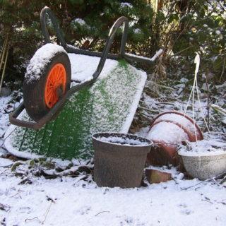 Den Garten winterfest machen - Daran solltest Du denken