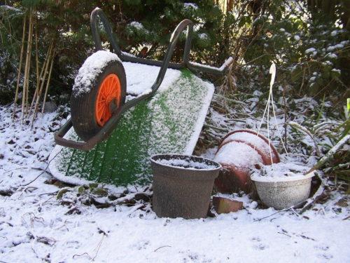 Den Garten winterfest machen